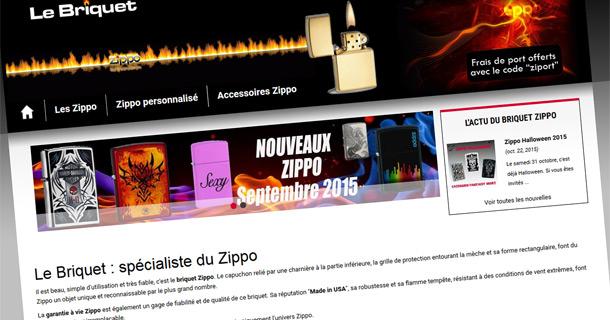 Briquets Zippo Personnalisés