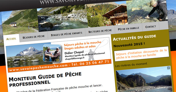 Guide de pêche en Savoie
