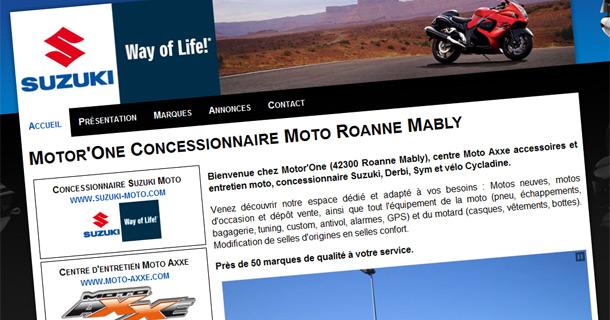 motor-one suzuki moto roanne